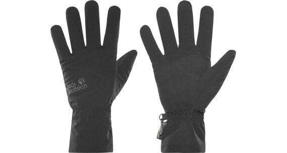 Jack Wolfskin Stormlock Highloft Handschoenen zwart